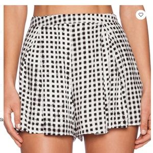 MINKPINK Gingham Short